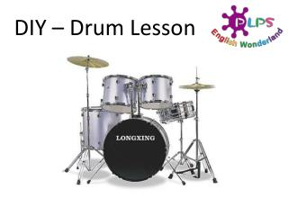 DIY – Drum Lesson
