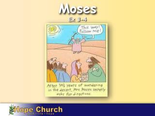 Moses Ex  3-4