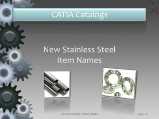 New  Stainless Steel Item  Names
