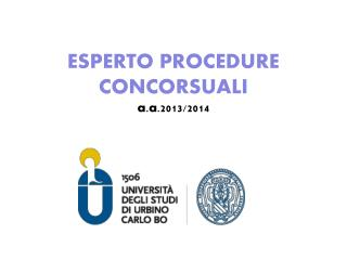 ESPERTO PROCEDURE CONCORSUALI a.a .201 3/2014