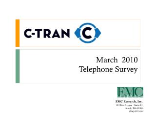 March  2010 Telephone Survey