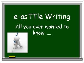 e-asTTle Writing