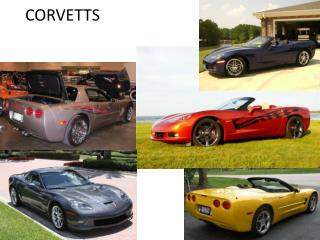 CHEVY CORVETTS