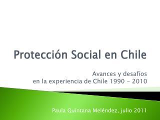 Protección Social en Chile