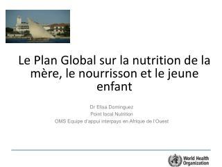 Le Plan Global sur la nutrition de la mère, le nourrisson et le jeune enfant
