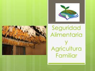 Seguridad Alimentaria y Agricultura Familiar