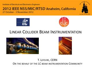 Linear Collider Beam Instrumentation