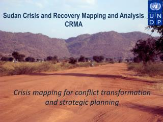Crisis mapping for conflict transformation and strategic planning