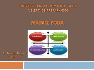 UNIVERSIDAD MARÍTIMA DEL CARIBE  VELERO DE PREPARACIÓN
