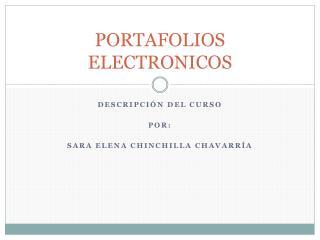 PORTAFOLIOS ELECTRONICOS