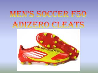 Men's Soccer F50  adiZero  Cleats