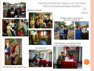 Chapter Community Service of the Year 2012 Candlelighters Events