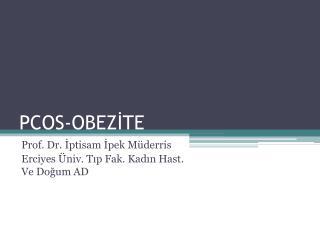 PCOS-OBEZİTE