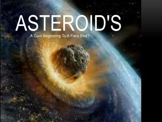 Asteroid's