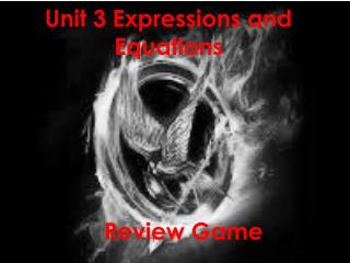 Unit 3 Expressions and Equations