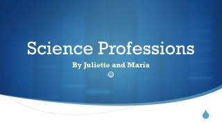 Science Professions