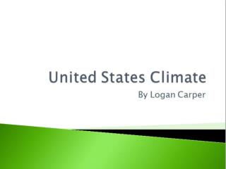 United States Climate