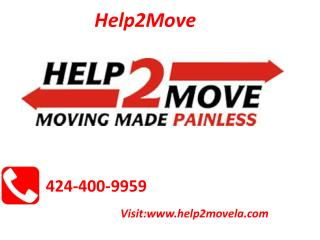 Local Movers Torrance CA