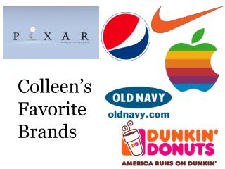 Colleen's  Favorite  Brands
