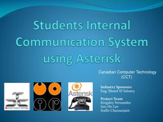 Students Internal Communication System using Asterisk