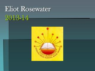 Eliot Rosewater 2013-14