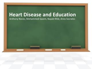 Heart Disease and Education