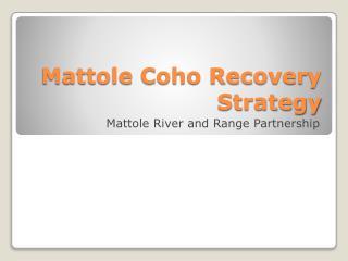 Mattole Coho Recovery Strategy