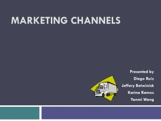 Marketing Channels