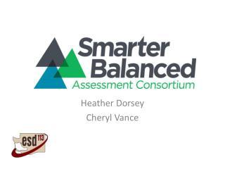 Heather Dorsey Cheryl Vance