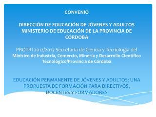 Curso de Formación Docente Continua DIPLOMATURA EN EDUCACIÓN