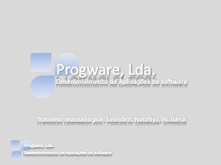 Progware, Lda.