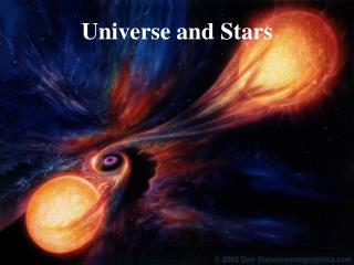 Universe and Stars