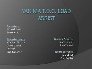 Yakima T.O.C. Load Assist
