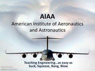 AIAA American Institute of Aeronautics and Astronautics