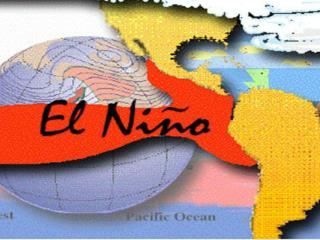 El Niño: A temperature anomaly