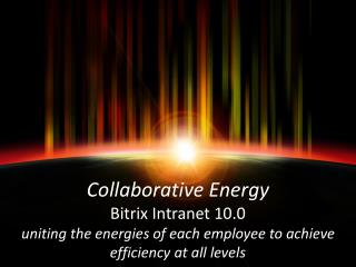 Bitrix Intranet spectrum of services