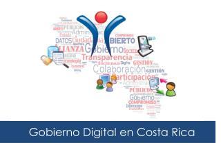 Gobierno Digital en Costa Rica