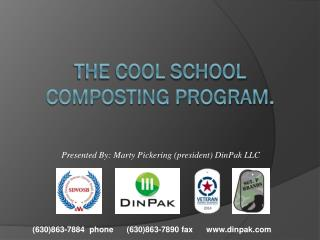 THE COOL school  composting program.