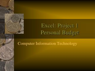Excel: Project 1 Personal Budget