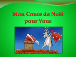 Mon Conte de Noël pour  Vous