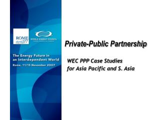 Private-Public Partnership