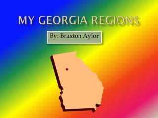 My Georgia Regions