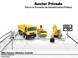 Sector Privado Rol en la Provisión de Infraestructura Pública