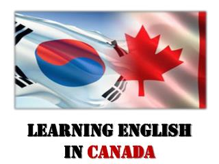 Learning English in  Canada