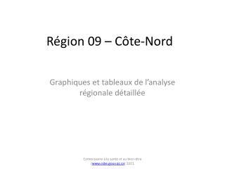 Région 09 – Côte-Nord