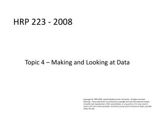 HRP 223 - 2008