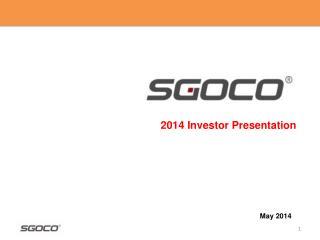 2014 Investor Presentation