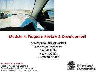 Conceptual Frameworks Backward Mapping •  What is it?  •  Why do it?  •  How to do it?