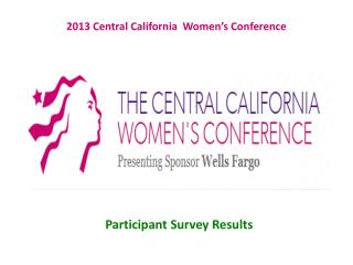 2013  Central California  Women's Conference