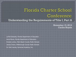 Florida Charter School Conference